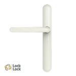 Lock Lock High Security Handle - 211mm Screw Centres - Blank Internal / External